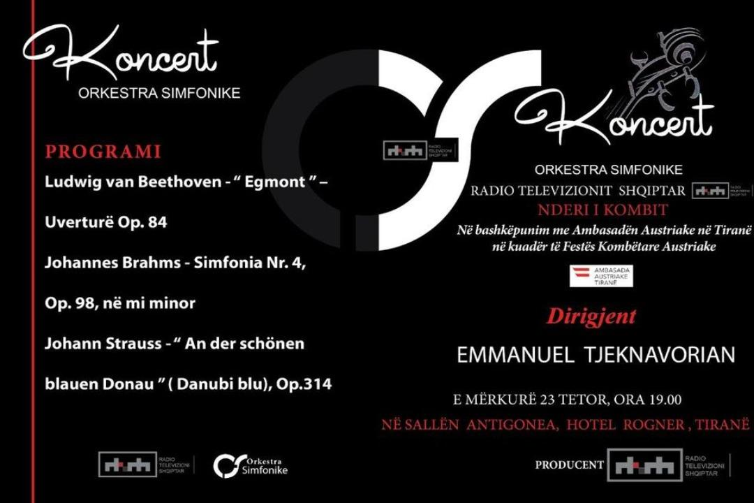Koncert i Orkestrës Simfonike të RTSH-së