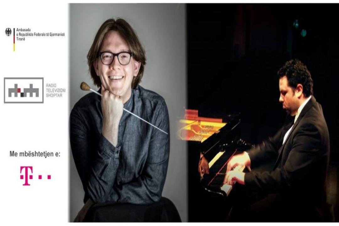 Koncert Simfonik i RTSh: Mateusz Moleda & Marin Gjollma