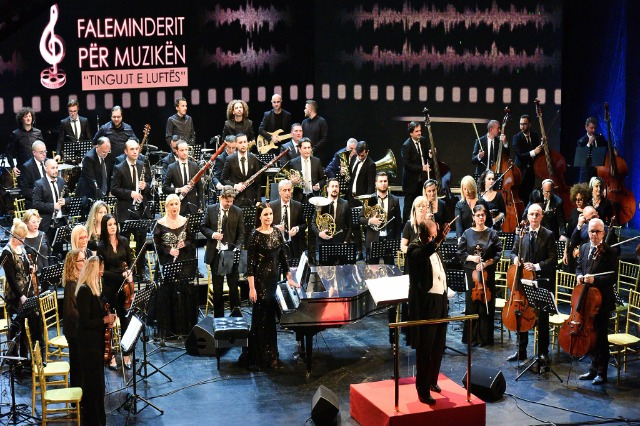 """""""Faleminderit për muzikën"""", mbrëmje gala kushtuar muzikës së kinemasë shqiptare"""
