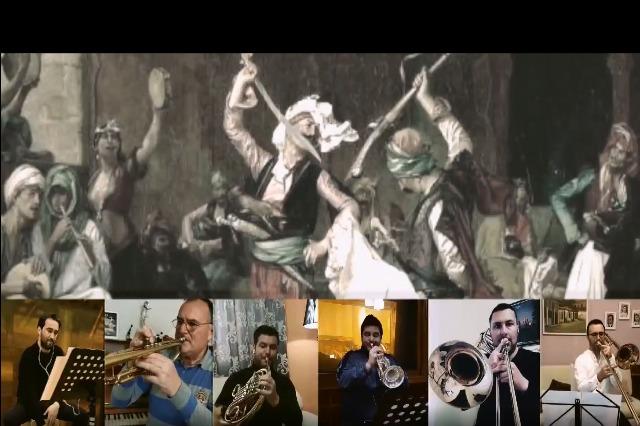 Kuinteti i tunxhit dhe perkusioni: DY PERPUNIME - Nga këngët popullore shqiptare Tuman Kuqe & Këngë dasme Krutane
