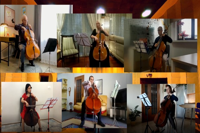 KËNGË MOJ për 6 violonçela